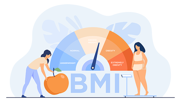 Impact of weight and height (BMI) on life insurance in Canada